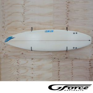 GF15H Surfboard Rack G-Force wall mounted display