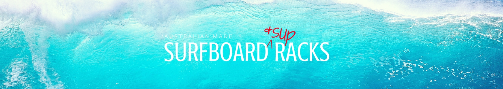 Website header SURF & SUP RACKS