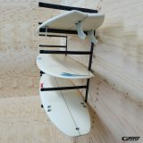 GF14-6H Surfboard Rack G-Force 6 boards wall mounted
