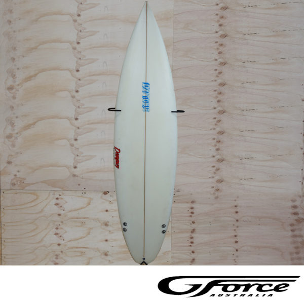 GF15V Surfboard Rack G-Force wall mounted display commercial