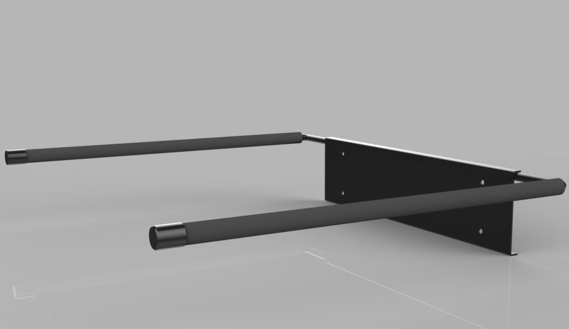 gf3f u2013 wall mounted surfboard rack