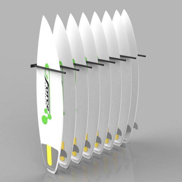 gf148v u2013 wall mounted surfboard rack